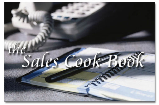 The Sales Cookbook